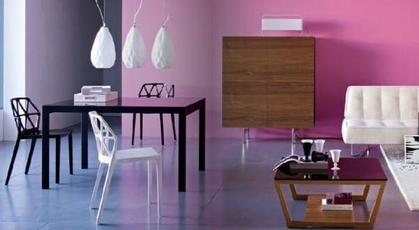 farbrausch sch ner wohnen minimalistische wohnzimmer. Black Bedroom Furniture Sets. Home Design Ideas