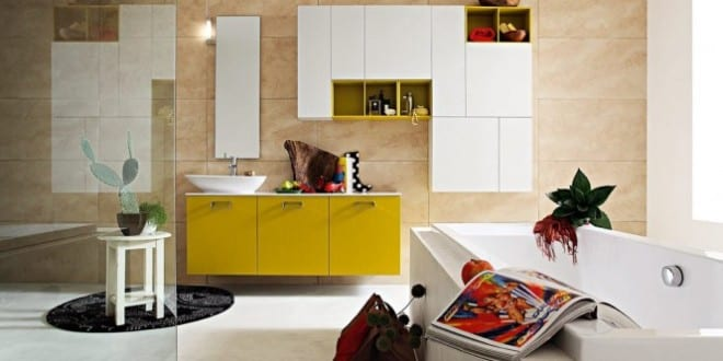 farbrausch sch ner wohnen moderne einrichtung f rs badezimmer freshouse. Black Bedroom Furniture Sets. Home Design Ideas