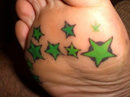 fußsohle tattoo ideen