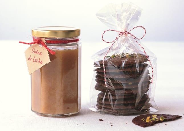 marmelade uas kokosnuss und schoko-cookies