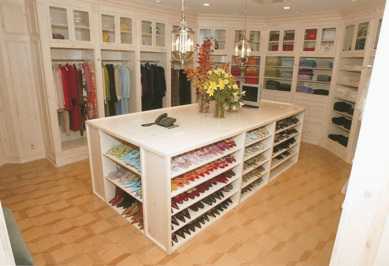 offener schuhschrank idee fürs kleidezimmer