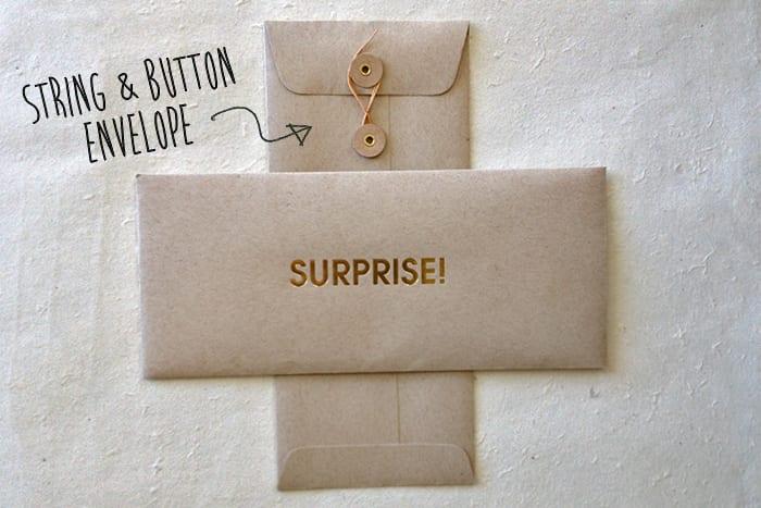gutschein gestaltungsideen aus papier