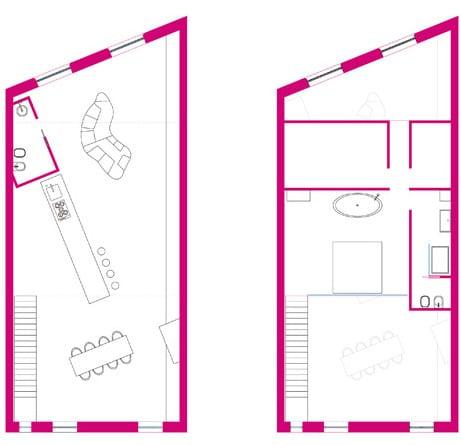 Entwurfsidee einer loft Wohnung-hi fi haus-Romolo Stanco