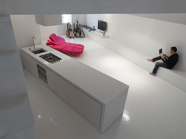 moderne Loft-Wohnidee_Romolo Stanco