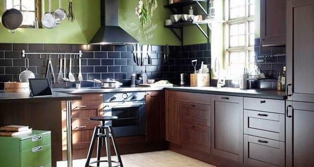 ikea k che in holz freshouse. Black Bedroom Furniture Sets. Home Design Ideas