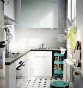 ikea k che kleine k che planen freshouse. Black Bedroom Furniture Sets. Home Design Ideas