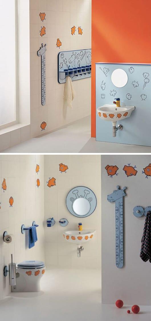 fließen für kinder-badezimmer - Bad Einrichten