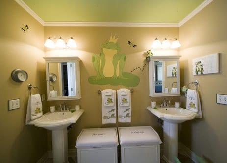 kinder-badezimmer - moderne gestaltungsideen für kleine kinder ... - Kinder Bad Gestalten Ideen