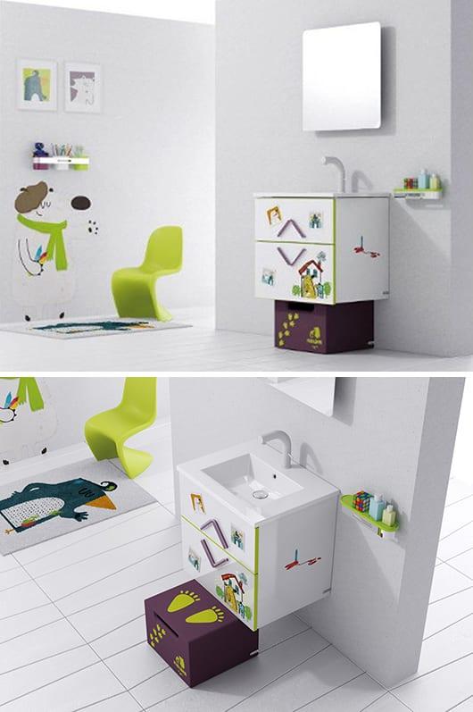 kreative badezimmer einrichtung für kinder