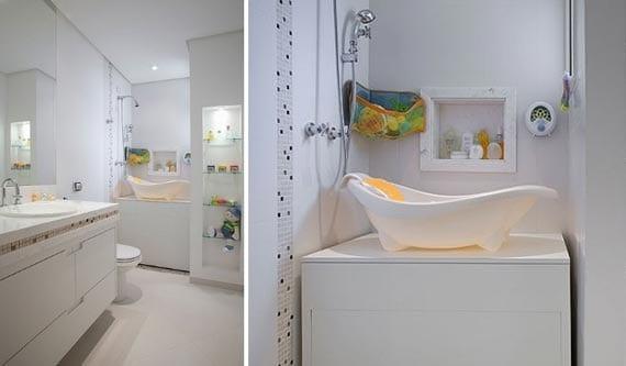 badezimmer einrichtungsidee für babys
