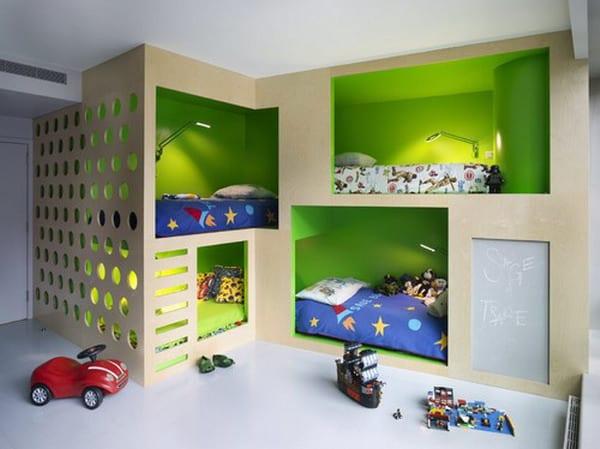 Kinderzimmer Grun 40 Gestaltungsideen Fur Kinderzimmer Freshouse