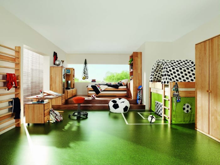 Kinderzimmer gr n 40 gestaltungsideen f r kinderzimmer for Gestaltungsideen jugendzimmer