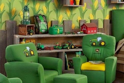 kinderzimmer gr n kinderm bel in gr n freshouse. Black Bedroom Furniture Sets. Home Design Ideas
