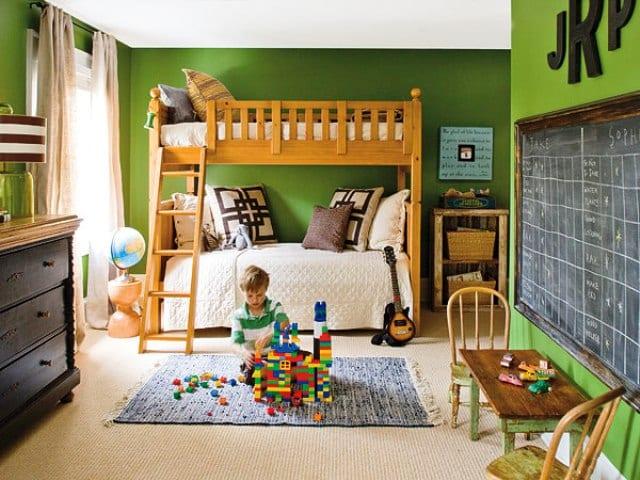 kinder-etagen-bett aus holz-holz kinder spielmöbel