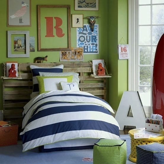 Kreative Gestaltung Kinderzimmer : Kinderzimmer GRÜN  40 Gestaltungsideen für Kinderzimmer  fresHouse