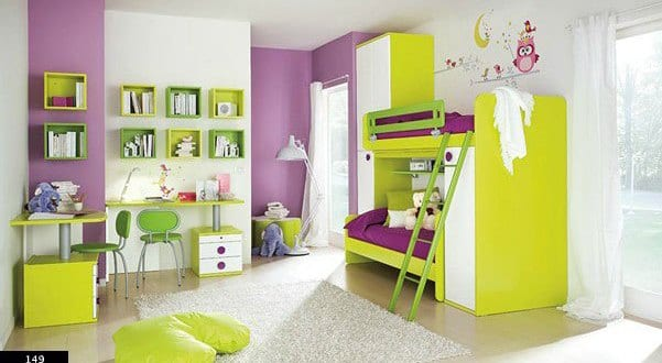 kinderzimmer gr n wand streich idee f rs kinderzimmer freshouse. Black Bedroom Furniture Sets. Home Design Ideas