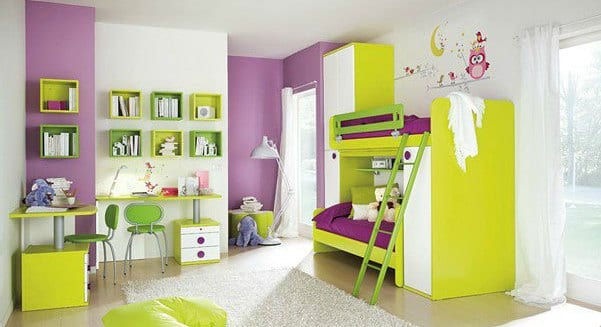 kinderzimmer gr n wand streich idee f rs kinderzimmer freshouse. Black Bedroom Furniture Sets. Home Design Ideas
