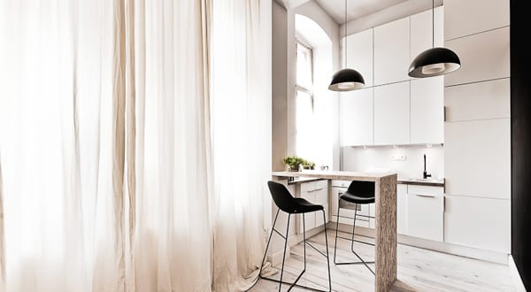 kleine k che wohnidee freshouse. Black Bedroom Furniture Sets. Home Design Ideas