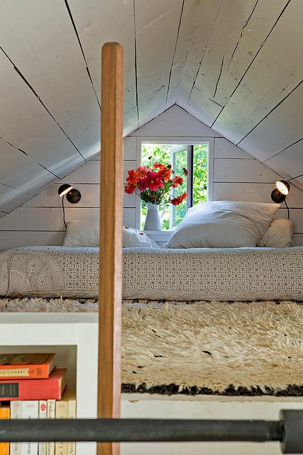 kreatives wohnen- moderne Einrichtung kleines schlafzimmers