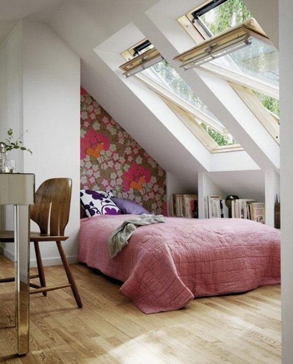 Wandgestaltung kleines Schlafzimmers