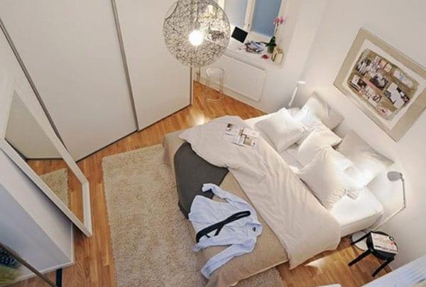 ideen für kleine schlafzimmereinrichtung