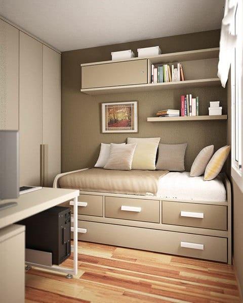 gestaltung kleiner schlafzimmer