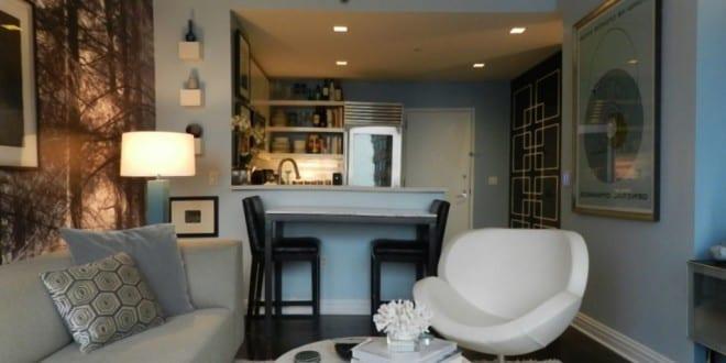 kleines wohnzimmer einrichten kleine k che mit theke freshouse. Black Bedroom Furniture Sets. Home Design Ideas