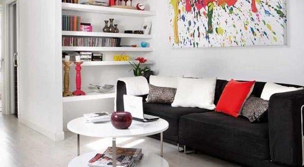 kleines wohnzimmer einrichten kreative wohnidee freshouse. Black Bedroom Furniture Sets. Home Design Ideas