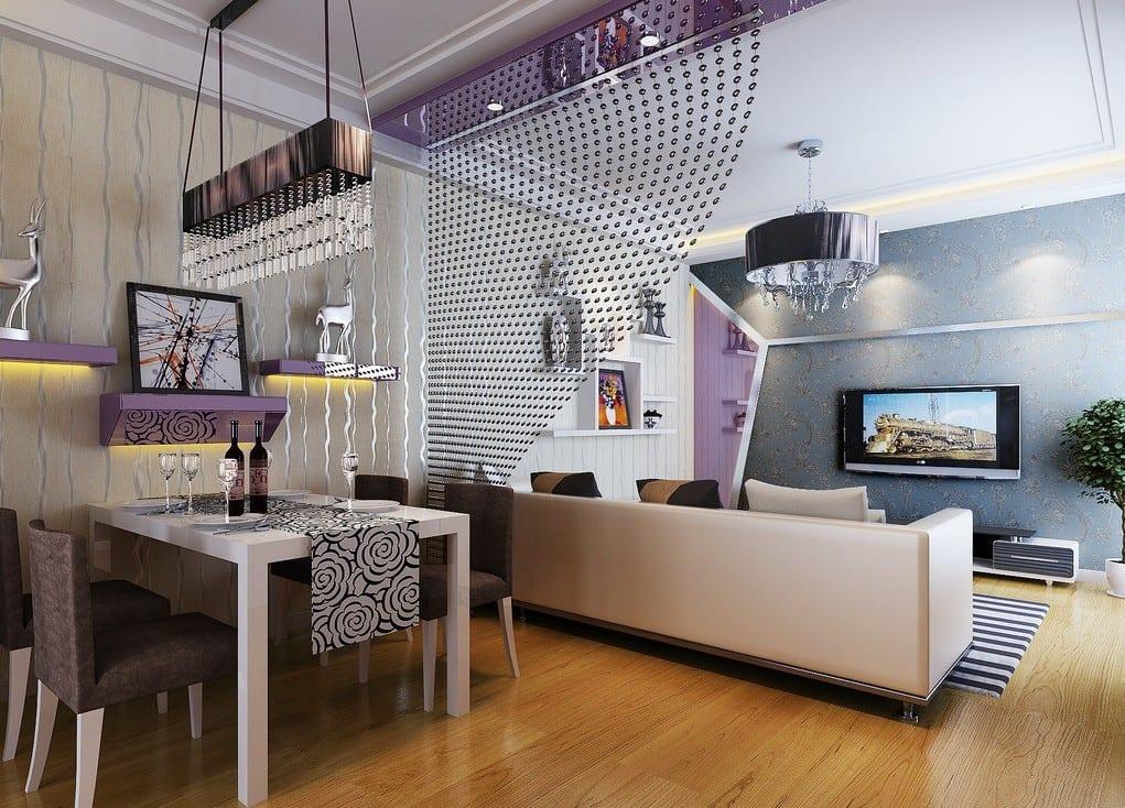 Kleines Wohnzimmer Einrichten - Gestaltungsidee für kleine Räume - fresHouse