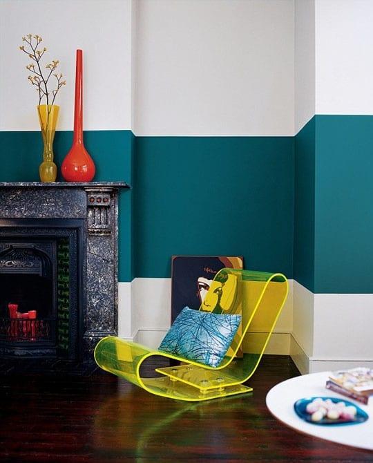 tolle wandgestaltung mit farbe 100 wand streichen ideen. 3d wand ... - Wnde Streichen Ideen