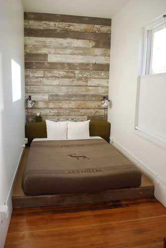 kreativer schlafbereich- kleine wohnung einrichtungsidee