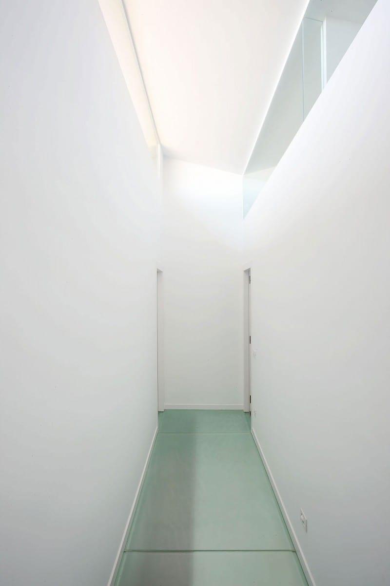 kreative Belichtung von außen - moderne Wohngestaltungsideen