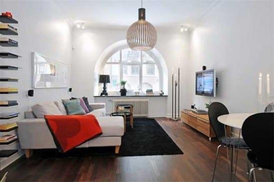 moderne wohnungsgestaltung kleines wohnzimmer idee freshouse. Black Bedroom Furniture Sets. Home Design Ideas
