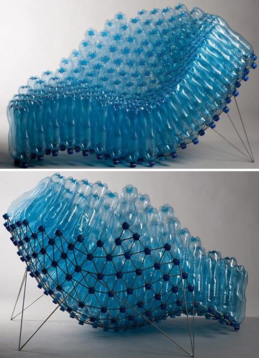 recycling möbel aus pet-flaschen