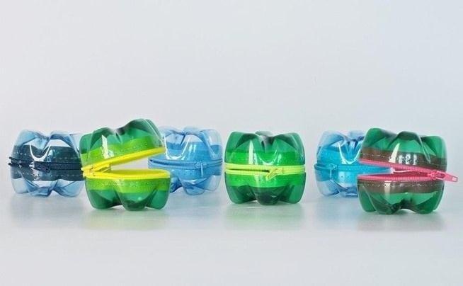 ideen für basteln mit pet flaschen