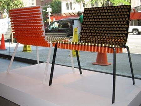 kreative stuhlideen aus Hülsen