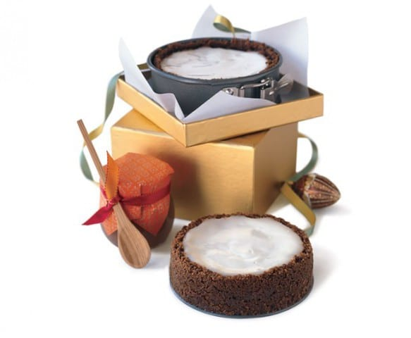 geschenke aus der küche- mini käsekuchen mit rum