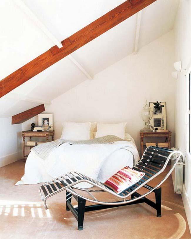 kleiner dachraum einrichtungsidee