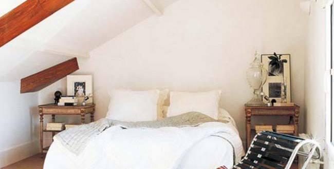 schlafzimmer im dachraum-ideen fürs kleine schlafzimmer - fresHouse
