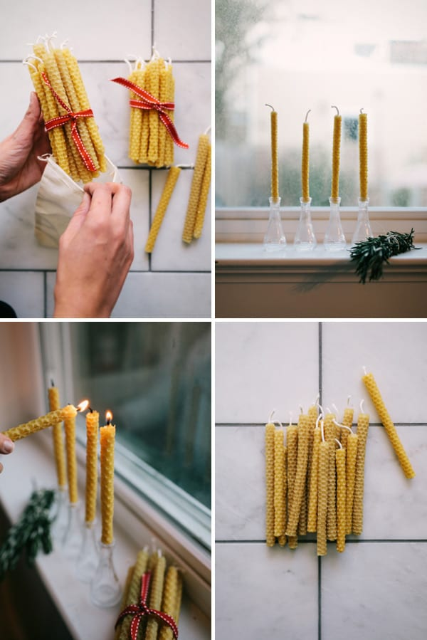 DIY weihnachtsgeschenkideen- Kerzen