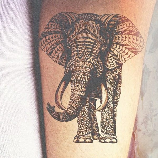 Arm Tätowierungsidee - Elefant tattoo