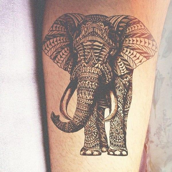 Arm Tätowierungsidee - Elefant tattoo