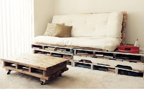 moderne Wohnzimmmer-Einrichtungsidee