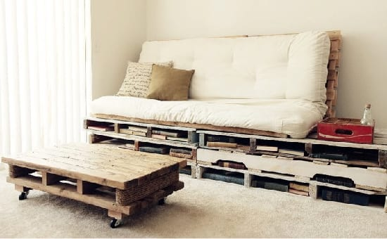diy m bel aus paletten kreative einrichtungsideen freshouse. Black Bedroom Furniture Sets. Home Design Ideas