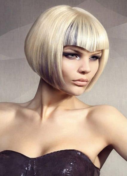 blonde bob frisur