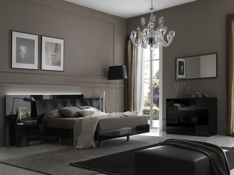 elegante Schlafzimmer Wand streichen ideen