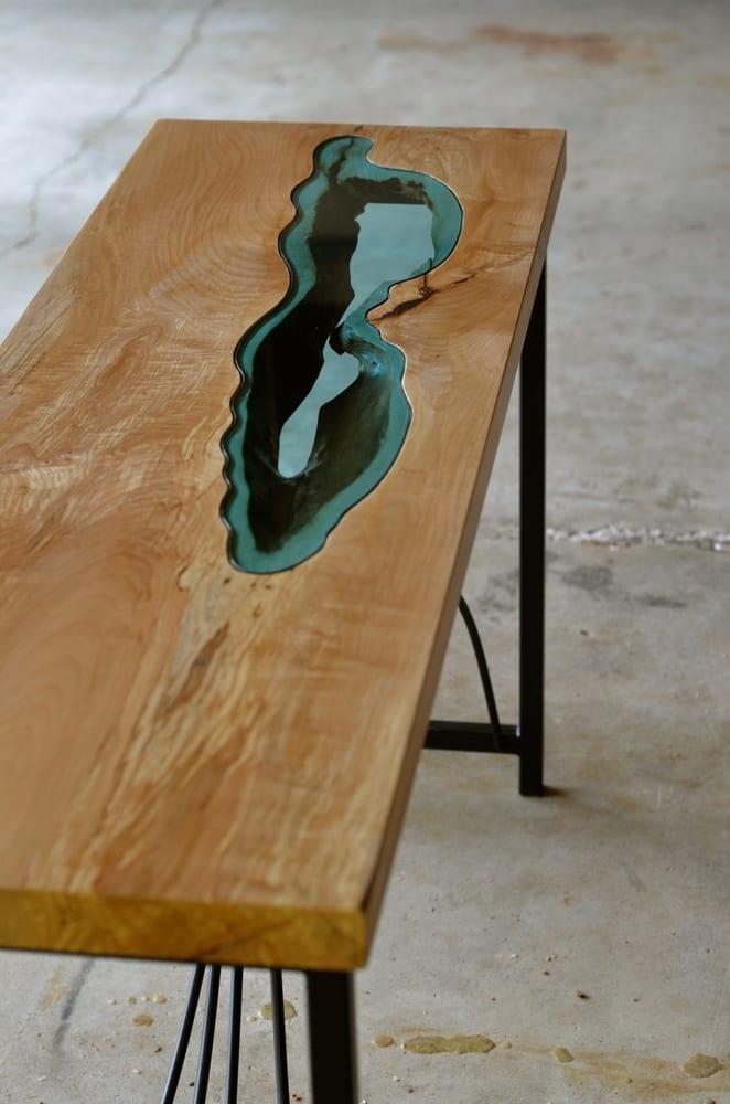 Holztisch Design