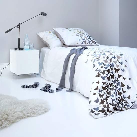 schlafzimmer einrichten in weiß