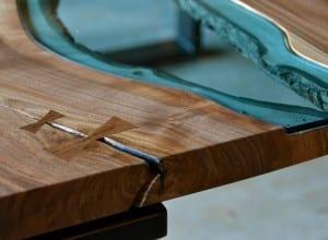 Holzmöbel Design Idee