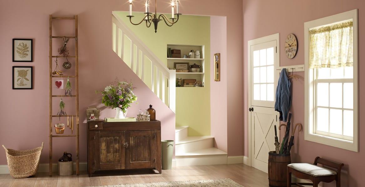 Farbgestaltung Wohnung- rustikale wohn einrichtung